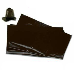 "400 Strong Heavy Duty Black Refuse Sacks 18""x29""x39"""