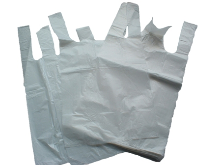 White Carrier Bags 10