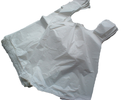 White Carrier Bags 11
