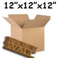 "30 x Double Wall Storage Boxes 12""x12""x12"""