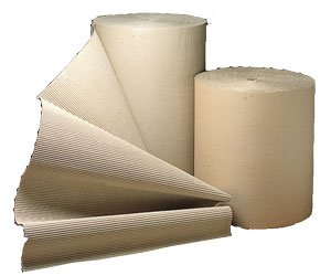 300mm Corrugated Paper Rolls