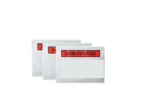 500 x A5 Printed Document Enclosed Wallets 165mm x 225mm
