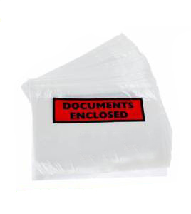 2000 x A6 Printed Document Enclosed Wallets 110mm x 158mm