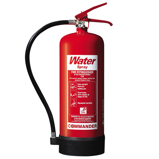 6 Litre Water Fire Extinguishers
