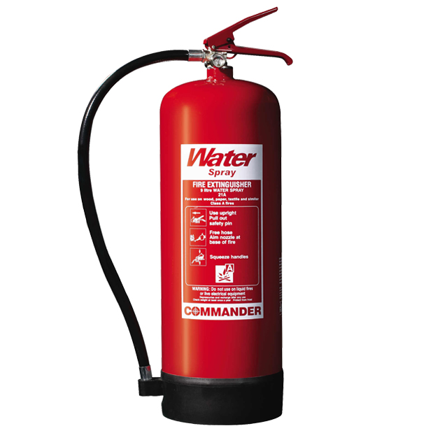 9 Litre Water Fire Extinguishers
