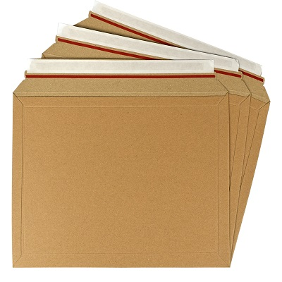 250 x Rigid Cardboard Envelopes