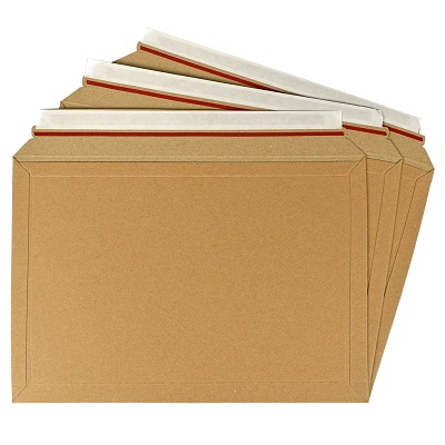 25 x Rigid Cardboard Envelopes