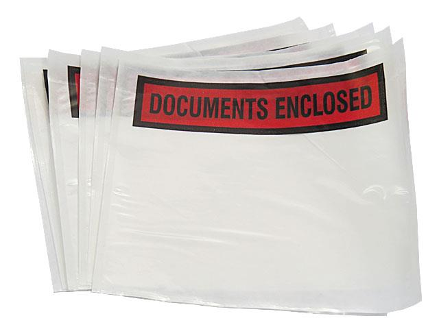 10000 x A7 Printed Document Enclosed Wallets 95mm x 125mm