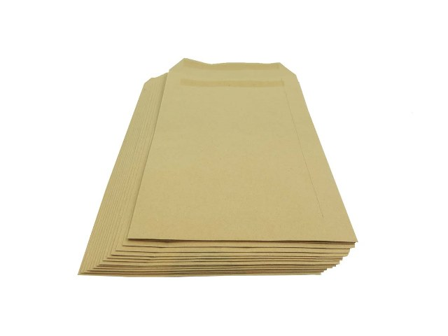 5000 x C5/A5 Manilla Plain Self Seal Brown Envelopes 229x162mm 80gsm