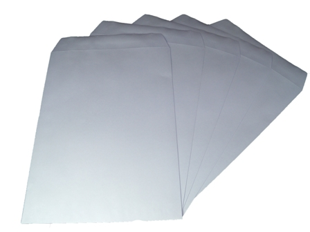 500 x C5/A5 White Plain Self Seal Envelopes 229x162mm , 90gsm