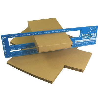 50 x Brown PIP C6 Size Maltese Cross Large Letter Cardboard Boxes 160x110x20mm