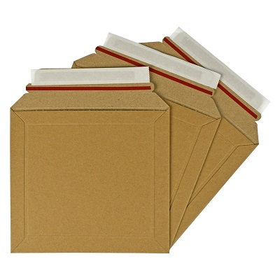 100 x Rigid Cardboard Envelopes