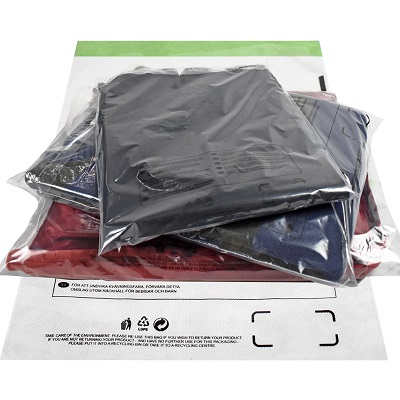100 x Strong Clear Postage Poly Mailing Bags 9