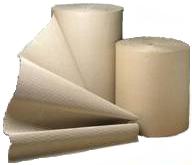 750mm x 75m Corrugated Cardboard Paper Roll