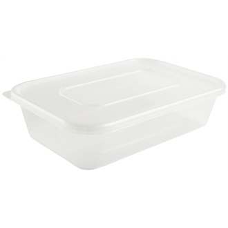 Microwave Food Takeway Containers 650ml - Pack of 50