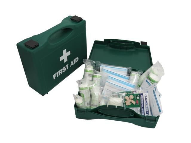 5 x 10 Person HSE Approved First Aid Kits In Hard Cases