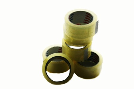 144 x Rolls Cellofix Low Noise Clear Packing Tape 48mm x 66m