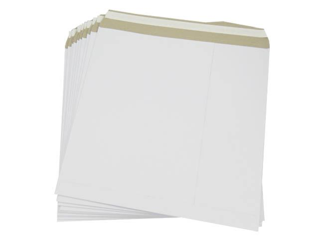 "100 x Extra Strong 12"" White Record LP Mailers Envelopes"