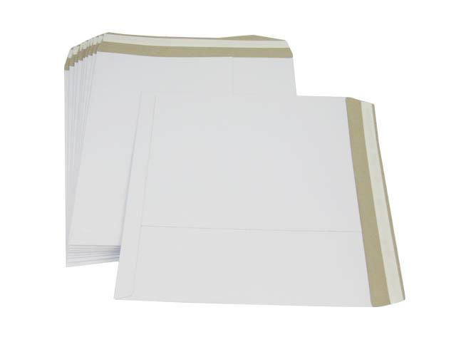 LP White Record Mailers