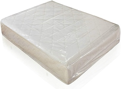 1 x Heavy Duty King Size Mattress Removal Poly Cover Bag
