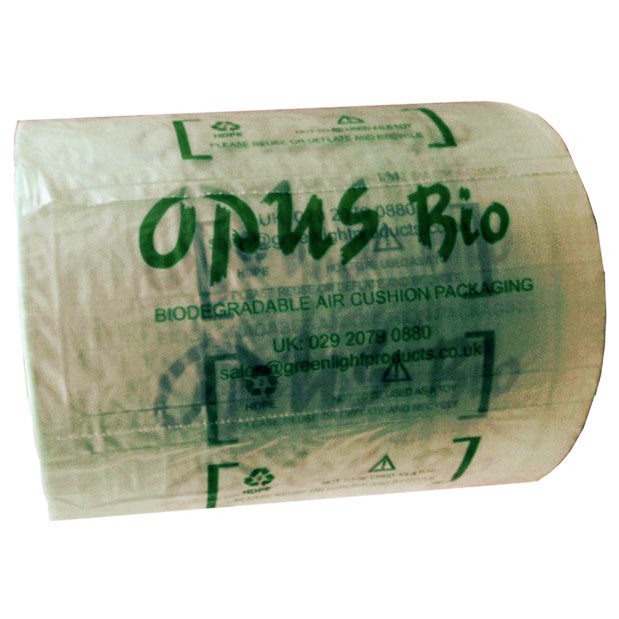 20 x Opus Bio (Greenlight) Air Pillow Cushion Machine Rolls 400mm x 50mm x 325M
