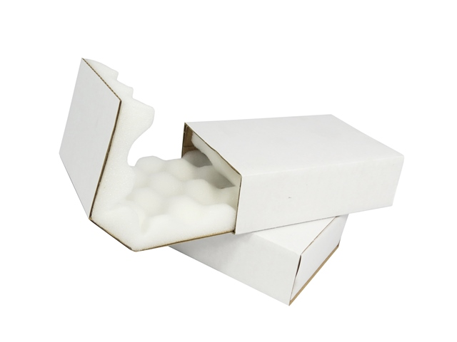 "100 x Heavy Duty Shell And Slide Foam Lined Postal Boxes 14""x11""x2"""