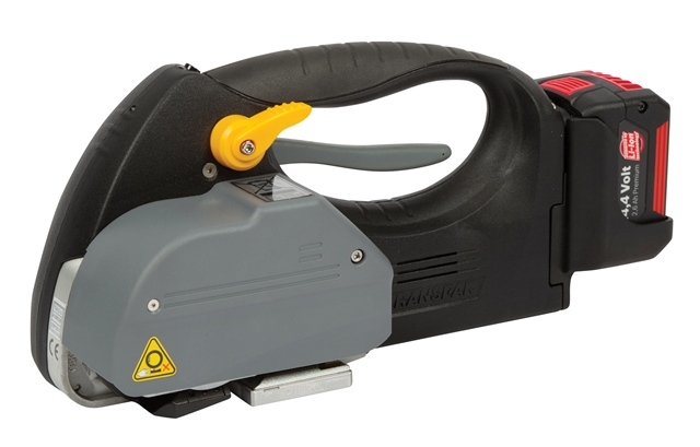 Optimax TVX-12 Heavy Duty Friction Weld Battery Powered Pallet Strapping Tool