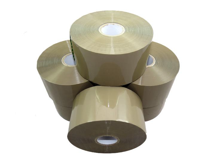 288 x Rolls Of Umax LOW NOISE Brown Bonus Tape 50mm x 150M + Free Dispenser