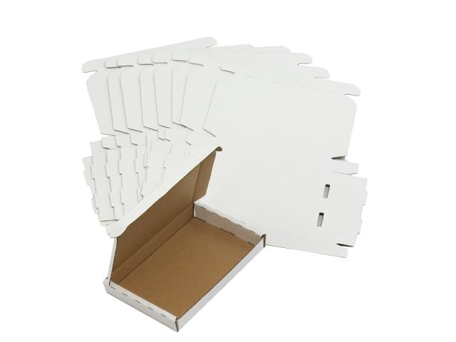 25 x White PIP Royal Mail Large Letter Die-Cut Postal Boxes 166x114x22mm (LLWHT1)