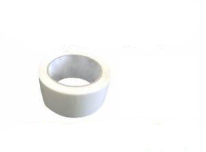 2 Rolls of White Coloured Packing Tape 50mm x 66m