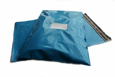 "5000 x Strong Baby Blue Postage Poly Mailing Bags 13"" x 19"" - 330x485mm"