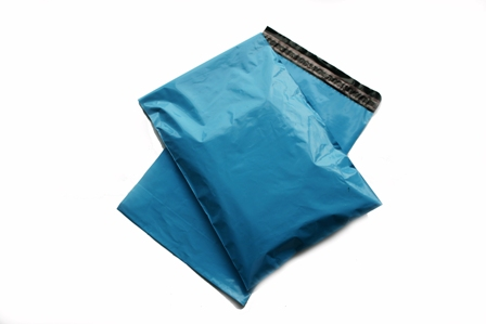 "5000 x Strong Baby Blue Postage Poly Mailing Bags 8.5"" x 13"" - 215x330mm"
