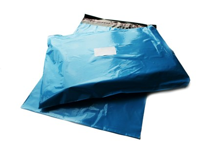 "5000 x Strong Baby Blue Postage Poly Mailing Bags 10"" x 14"" - 250x350mm"
