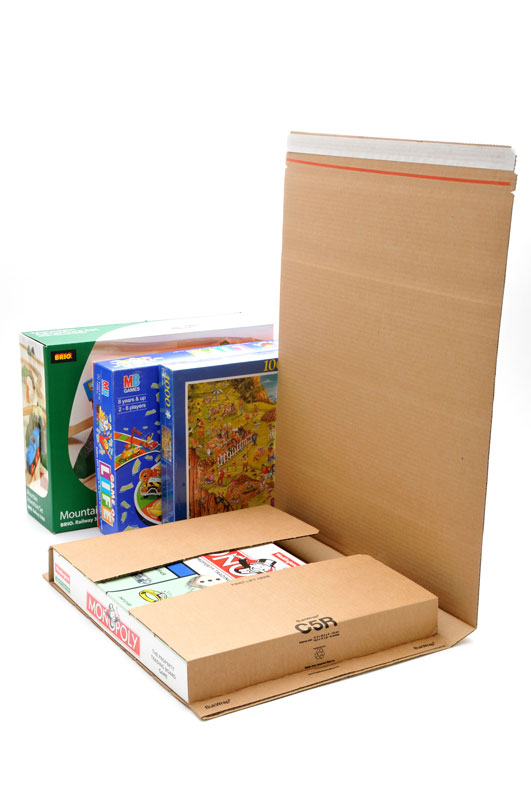 20 x C5 Book Wrap (Bukwrap) Mailer Postal Boxes 415x355x100mm