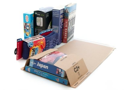2000 x C2 Book Wrap (Bukwrap) Mailer Postal Boxes 260x175x70mm
