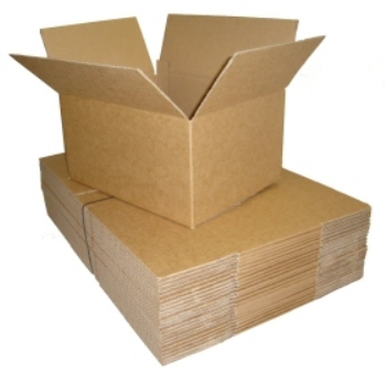 "5 x Single Wall Cardboard Postal Boxes 12""x9""x9"""