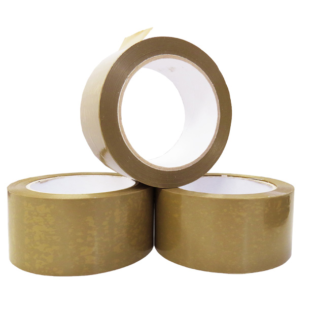 36 x Rolls Of KD Heavy Duty Brown Vinyl Packing Tape 48mm x 66m