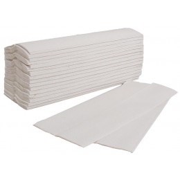 120 x Luxury White 2 Ply C-Fold Multi Fold Hand Paper Towels Tissues