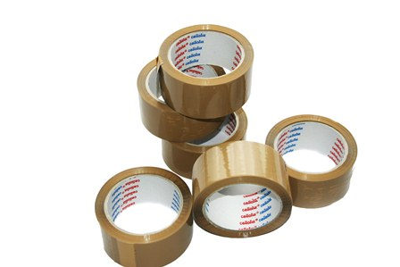 12 x Rolls Cellofix Low Noise Brown Packing Tape 48mm x 66m