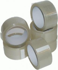 72 x Rolls Clear Packing Parcel Tape 48mm x 66m