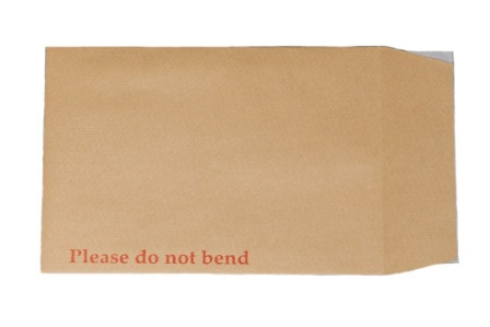 1000 x C4 A4 Size Board Back Backed Envelopes 324x229mm