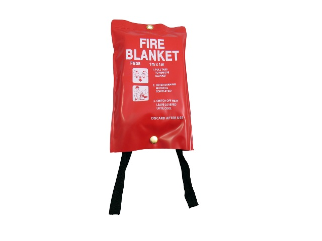 3 x Quick Release Fire Safety Blankets 1M x 1M