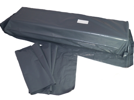 "250 x Strong Long Grey Postal Poly Mailing Bags 12"" x 36"" - 300x900mm"