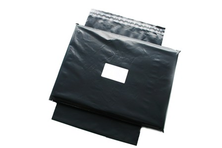 "500 x Strong Grey Postage Poly Mailing Bags 6""x9"" - 165x230mm"