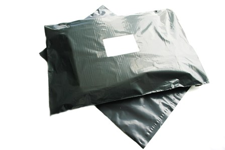 "200 x Strong Grey Postage Poly Mailing Bags 10""x14"" - 250x350mm"