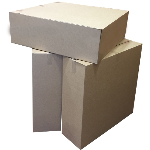 "60 x Extra Large S/W Packing Cardboard Boxes 32""x10""x32"""