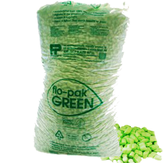 15 Cubic Foot Bag of FLOPAK Loose Fill Packing Peanuts