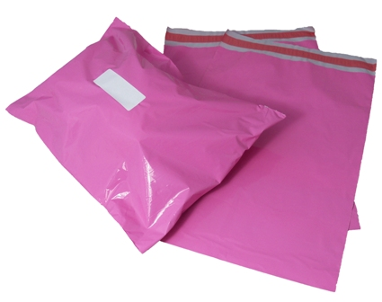 "200 x Strong Pink Postage Postal Mailing Bags 17"" x 22"" - 430x560mm"