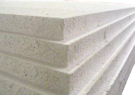 36 x Sheets Of Expanded Foam Polystyrene 2400x1200x50mm