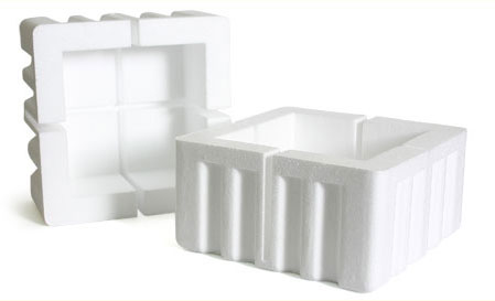 48 x Expanded Polystyrene Foam Edge Corners Protectors